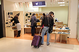 Made the largest sales record as a temporary shop at Fukuoka airport